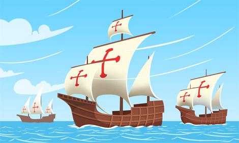 60% off Clipart Columbus Ships Caravels La Niña Pinta and | Etsy