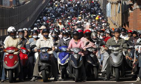 Taipei motorists