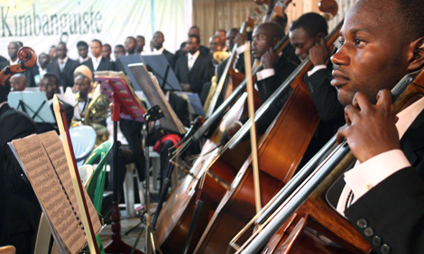 Kimbanguist Symphony Orchestra in the Congo