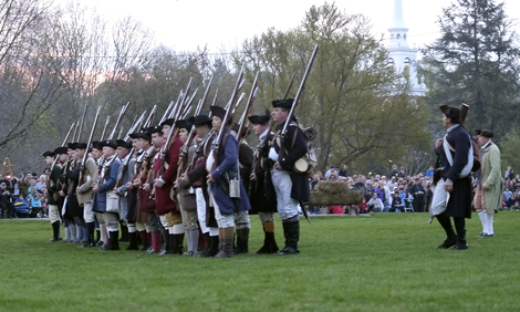 Patriots' Day in Lexington, Massachusetts
