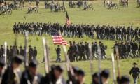 Reenacting the Battle of Antietam