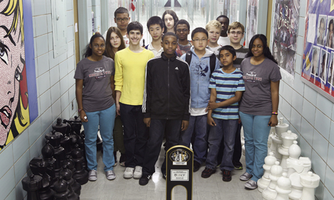 Intermediate School 318's Chess Team