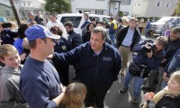 Governor Chris Christie in Little Ferry