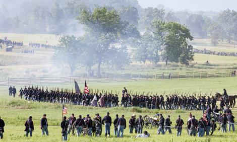 Battle of Gettysburg Reenactment