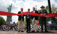 Statue of Liberty Ribbon-Cutting Ceremony