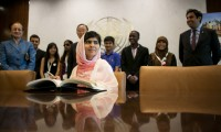 Malala Yousafzai at the United Nations