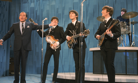 The Beatles on The Ed Sullivan Show