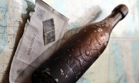 World's oldest message in a bottle