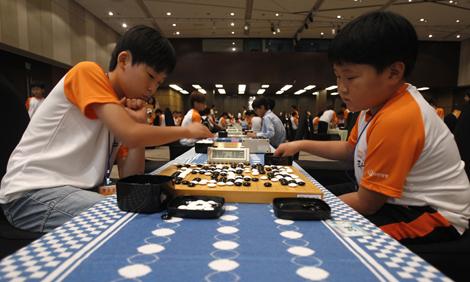 Go Championship Games in Seoul, South Korea