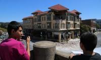 Earthquake aftermath in Napa
