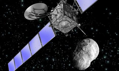 Rosetta spacecraft