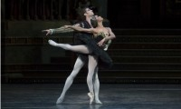 Misty Copeland dances with James Whiteside in Swan Lake