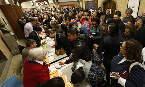 Super Tuesday caucus in Colorado